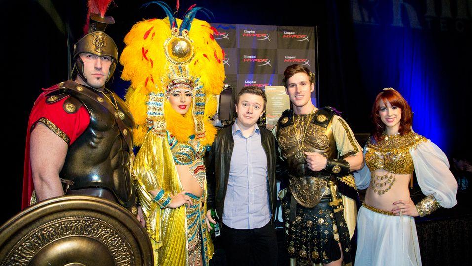 Hardware.nos utskremte fant alle sine helter på ett sted i Vegas – passende nok på hotellet «Caesars Palace».