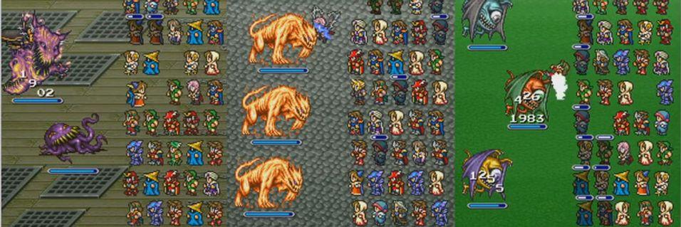 Spinnvill Final Fantasy-slåssing til iOS