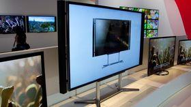 Sony KD-84X9005 kan vise 4K-filmer via et medfølgende distribusjonssystem.