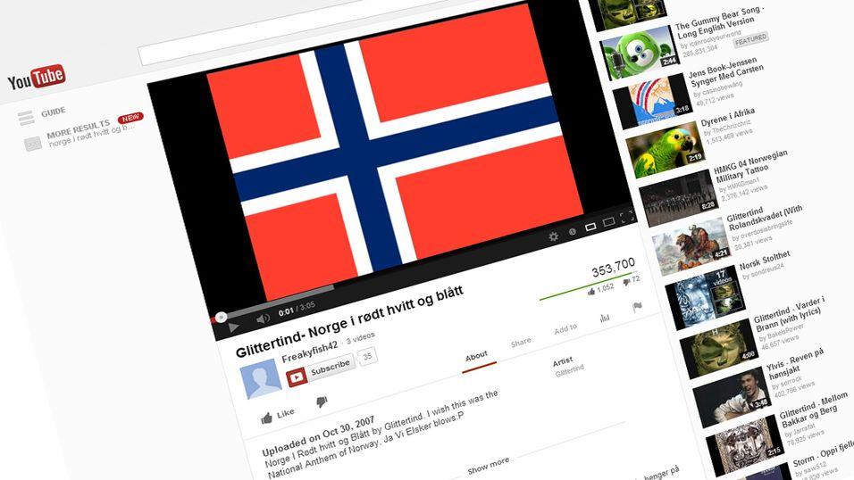 Nå har YouTube blitt norsk