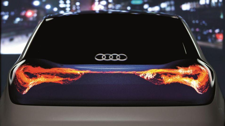 Hadde det vært en god idé om lysene på bilen så slik ut?