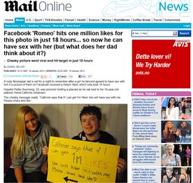 Britiske Daily Mail.