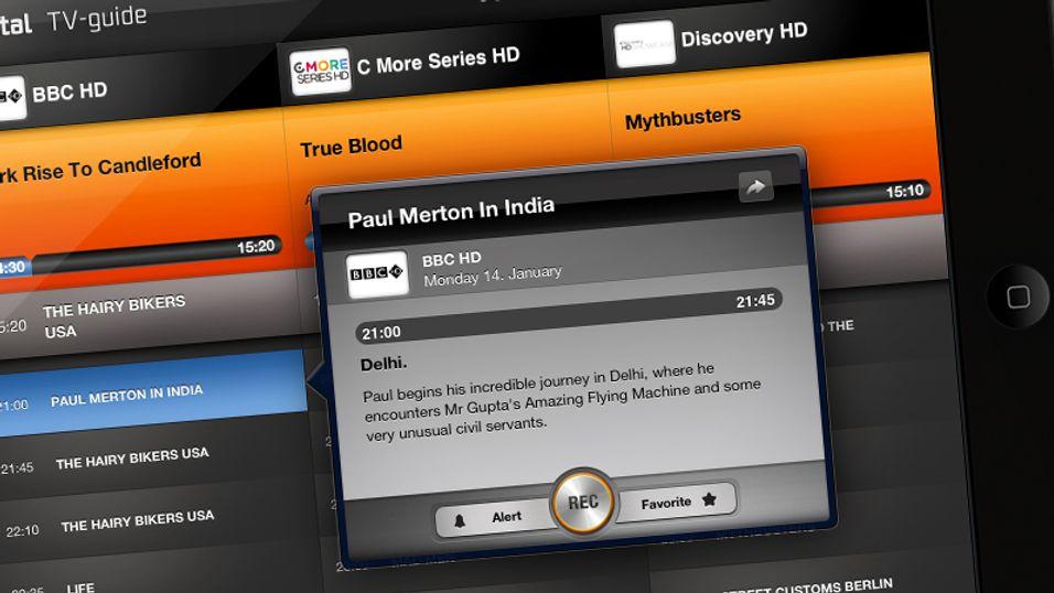 Fjernstyr TV-opptakene fra nettbrettet og mobilen