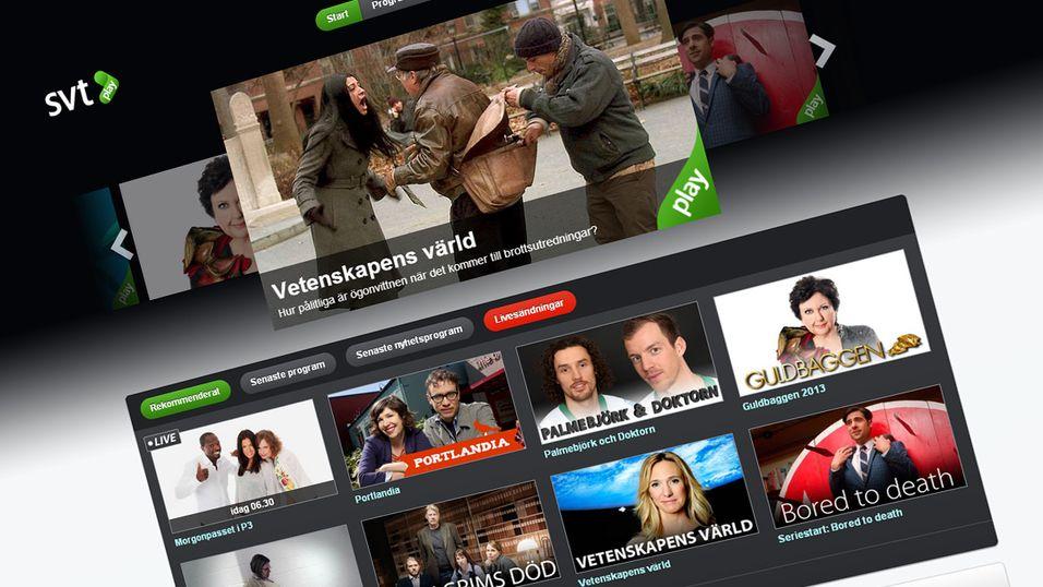 Den nye satsingen kommer til å inngå i tjenesten SVT Play.