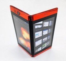Begge skjermene er aktive, også når de vises hver sin veg.
