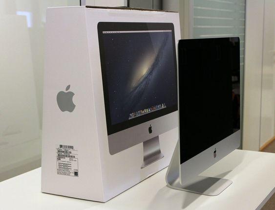 Fra visse vinkler ser nye iMac ut som en tynn strek.
