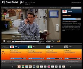 Canal Digital lar deg se direkte TV via nettleseren.