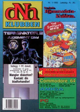 Forsiden, nr. 1 1992.