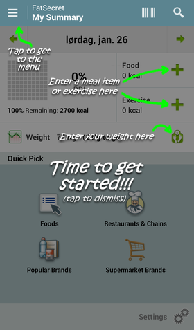 Calorie Counter by FatSecret.