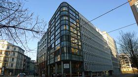 HiOA ligger sentralt i Oslo Sentrum.