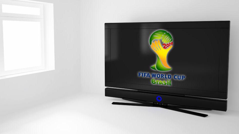 Sender fotball-VM i 4K-oppløsning
