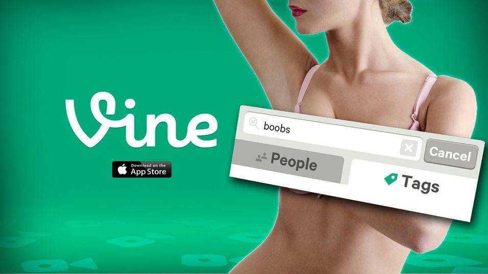 Vine har begynt å sensurere de mest brukte pornorelaterte søkeordene.