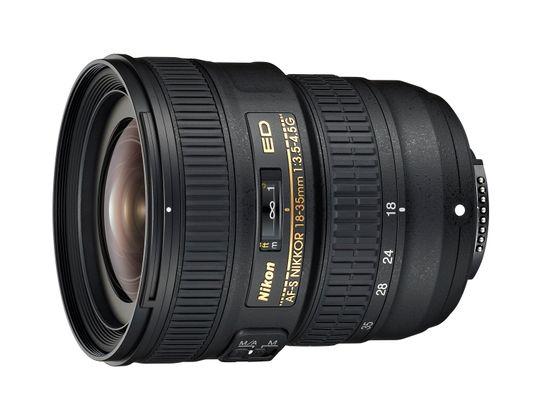 Nikon AF-S NIKKOR 18-35mm f/3.5-4.5G ED.