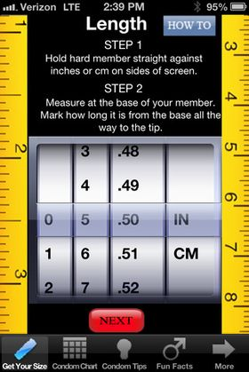 Bare å begynne å måle.