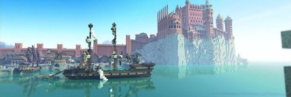 King's Landing i blokkformat.