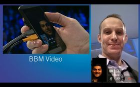 Videosamtale har nå blitt en integrert del av BlackBerry Messenger.