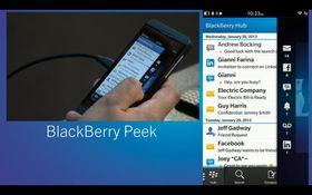 Peek er en funksjon som lar deg se hva som foregår bak applikasjonen som kjører.