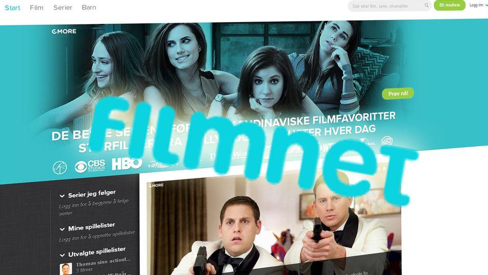 Filmnet frister blant annet med ferske filmer og kvalitetsserier fra HBO.