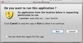 Varselmelding i Firefox.