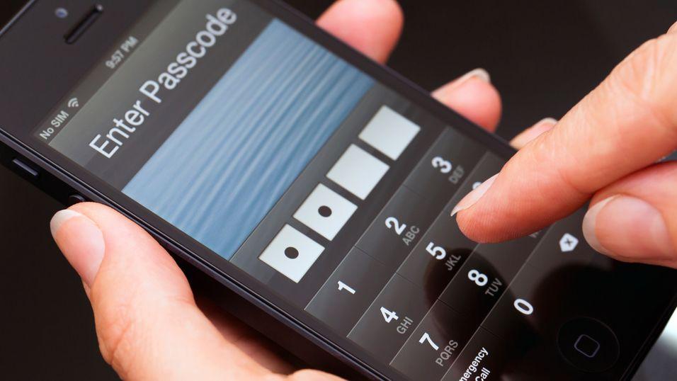 Bevegelser avslører mobilpassordet ditt