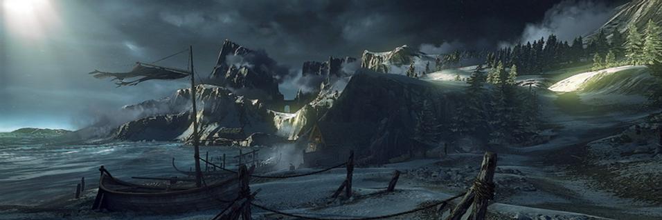 Sjekk den nye The Witcher-grafikken