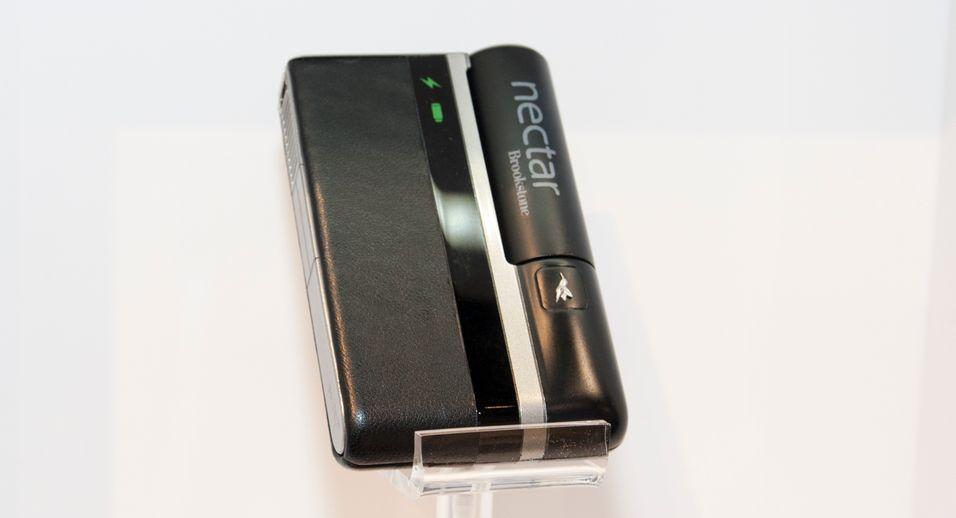Denne klossen skal gi deg to ukers batteritid bare ved hjelp av lightergass.