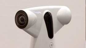 Kameraet består av to fiskeøyeobjektiver.