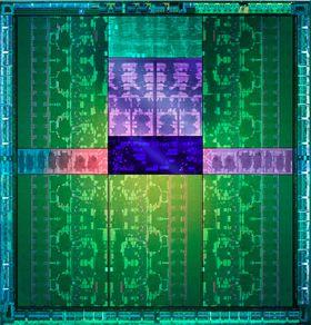 Slik ser kjernen på Kepler GK110-prosessoren ut.