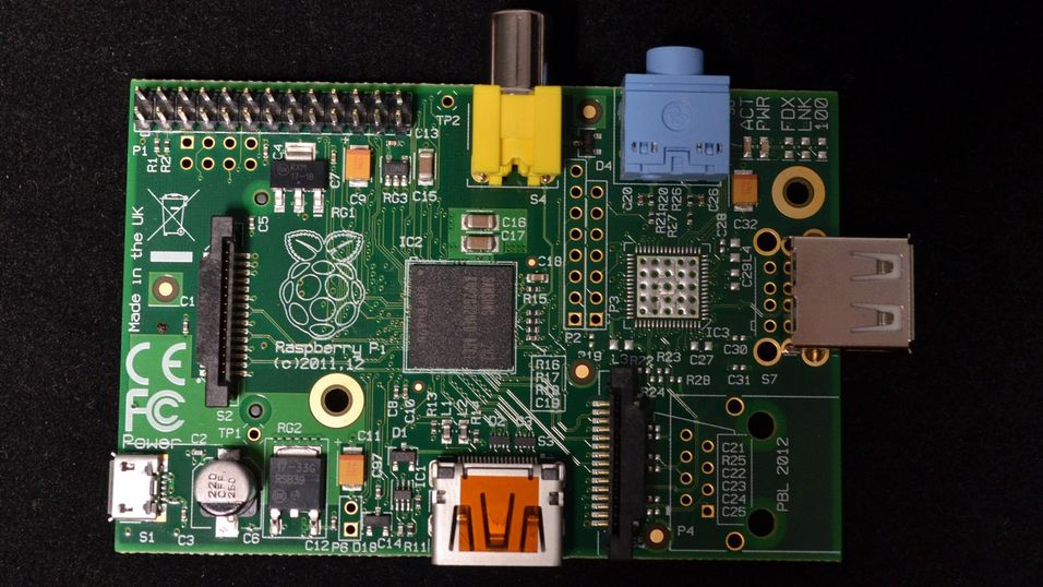 Raspberry Pi Model A er den energieffektive lillebroren til den kraftigere Model B.