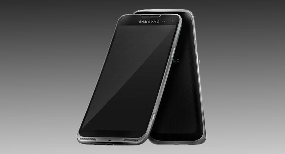 Denne foreslåtte designen for Galaxy S4 stammer fra en ukjent designer, og har neppe noe å gjøre med den endelige designen.