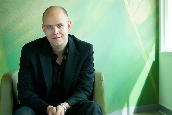 Spotify-sjef Daniel Ek synes ikke det er noen grunn til å klage på utbetalingene.