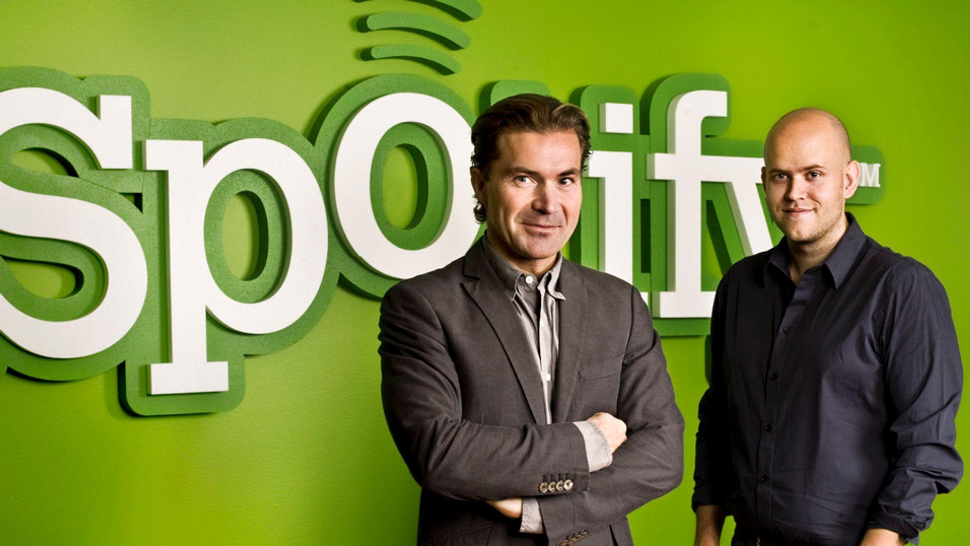 Så mye må Spotify betale platebransjen