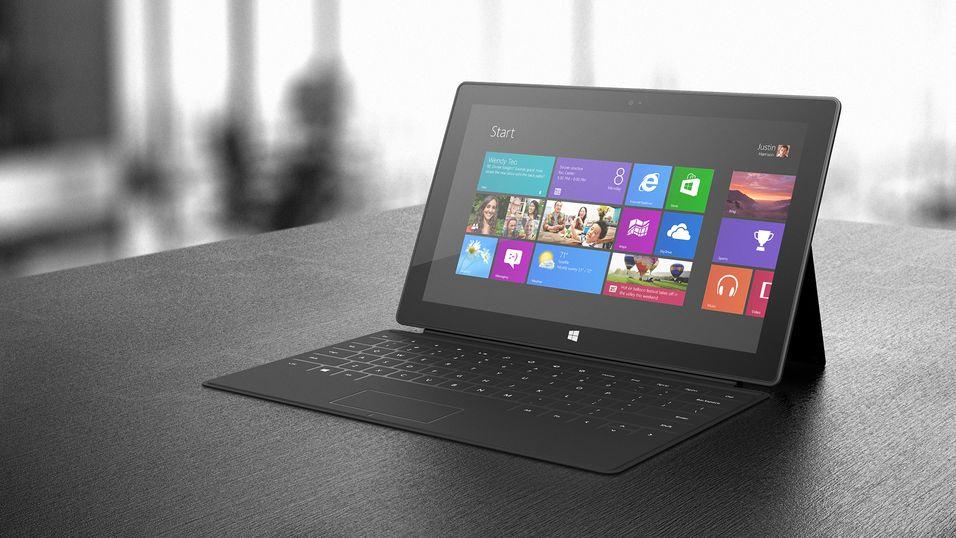 Nå kommer Surface Pro til Norge