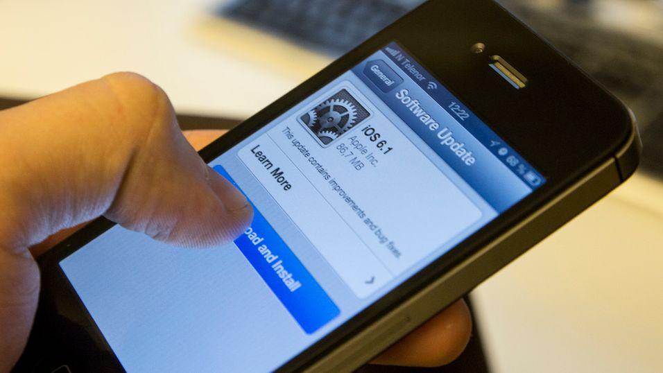 iPhone-oppdatering tetter alvorlig sikkerhetshull