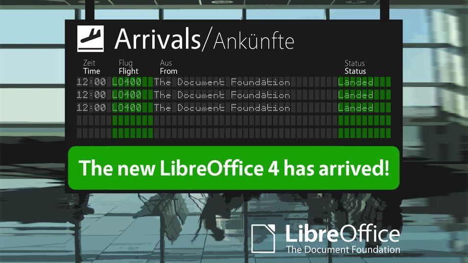 LibreOffice 4.0 er visstnok det nettsamfunnet har drømt om siden 2001.