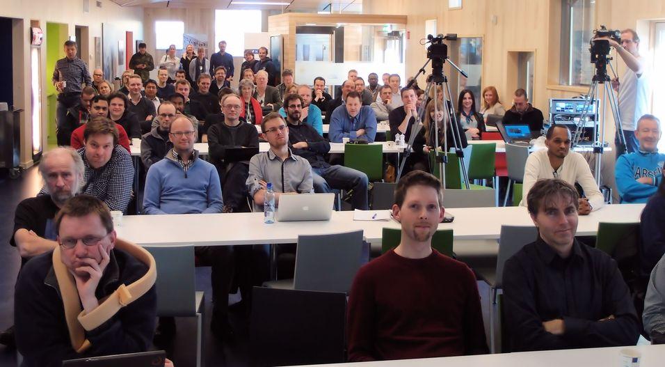 70 utviklere møtte opp da startskuddet gikk for Apps4Norge.