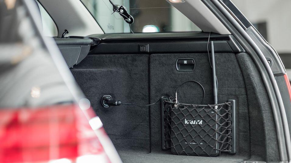 Ice.net har lansert en mobil bredbåndsløsning for bruk i bil.