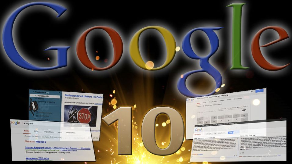 Google har gjemt bort mange morsomme funksjoner i tjenestene sine.