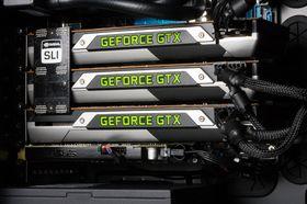 Ifølge Nvidia skal GTX 700-serien fungere svært godt i SLI-oppsett allerede ved lansering. Her fra vår SLI-test av GTX Titan.