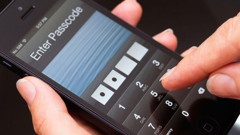Enkelt å omgå iPhone-sikkerheten