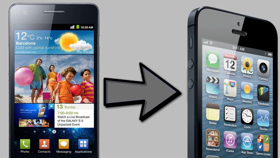 GUIDE: Slik bytter du fra Android til iPhone