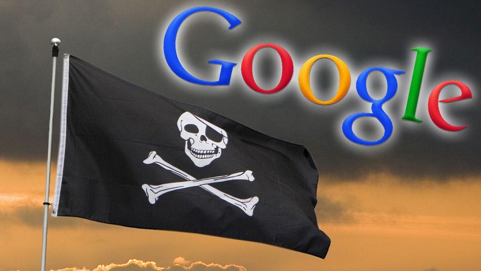 Google vil «sulte ut» piratene på nett