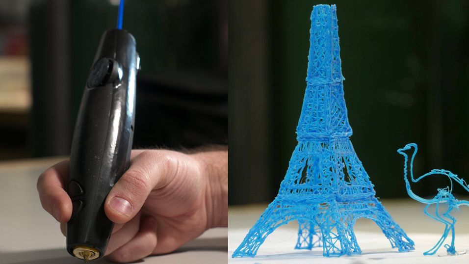 Nå er 3D-printerpennen i salg