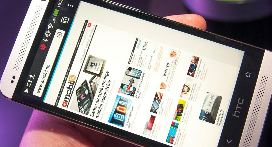 SNIKTITT: Vi har sett nærmere på HTCs nye toppmodell