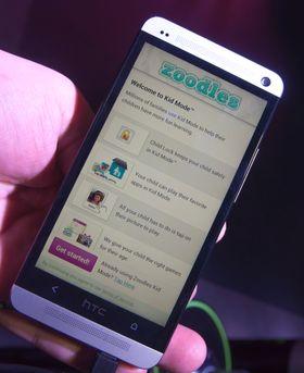 En egen app skal gjøre telefonen trygg å bruke for de minste.