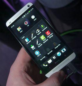 Foldere slik de ser ut i Sense 5 på HTC One.