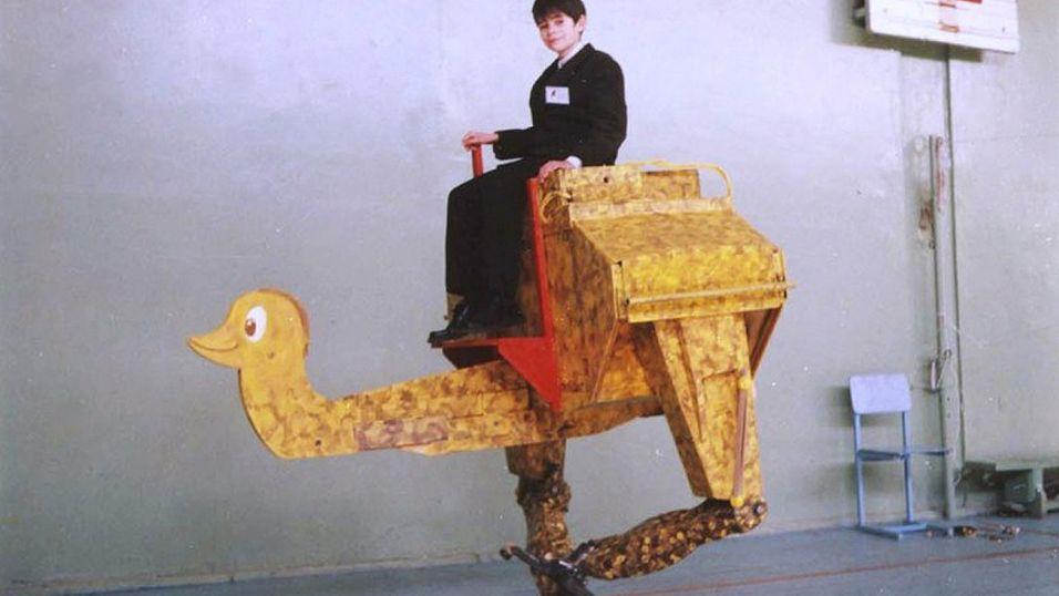 Denne vandrende roboten kostet bare rundt 8000 kroner.