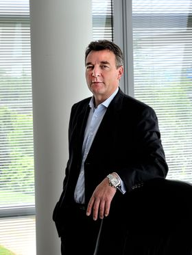 Administrerende direktør Didier Lamouche i ST-Ericsson.