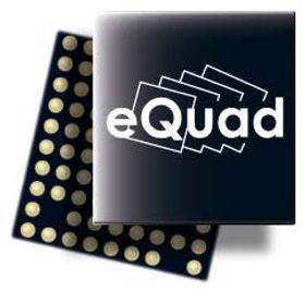 Prosessorarkitekturen eQuad som benyttes i NovaThor L8580 lar hver kjerne kjøre på opptil 2,5 GHz, eller på lavere hastighet med en spenning på bare 0,6 volt.