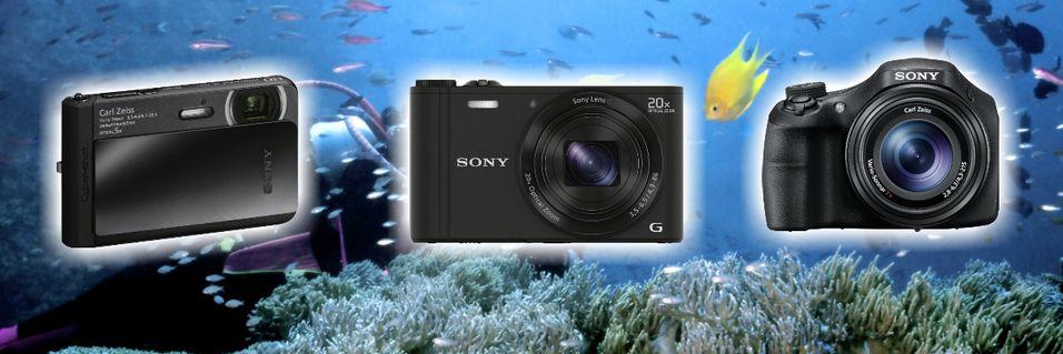 Sony lanserte nye kompaktkameraer